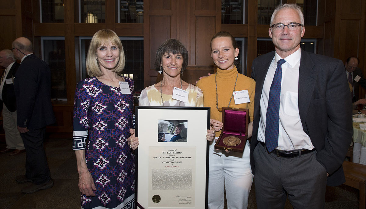 Conservationist Joyce Poole '74 Honored at Taft