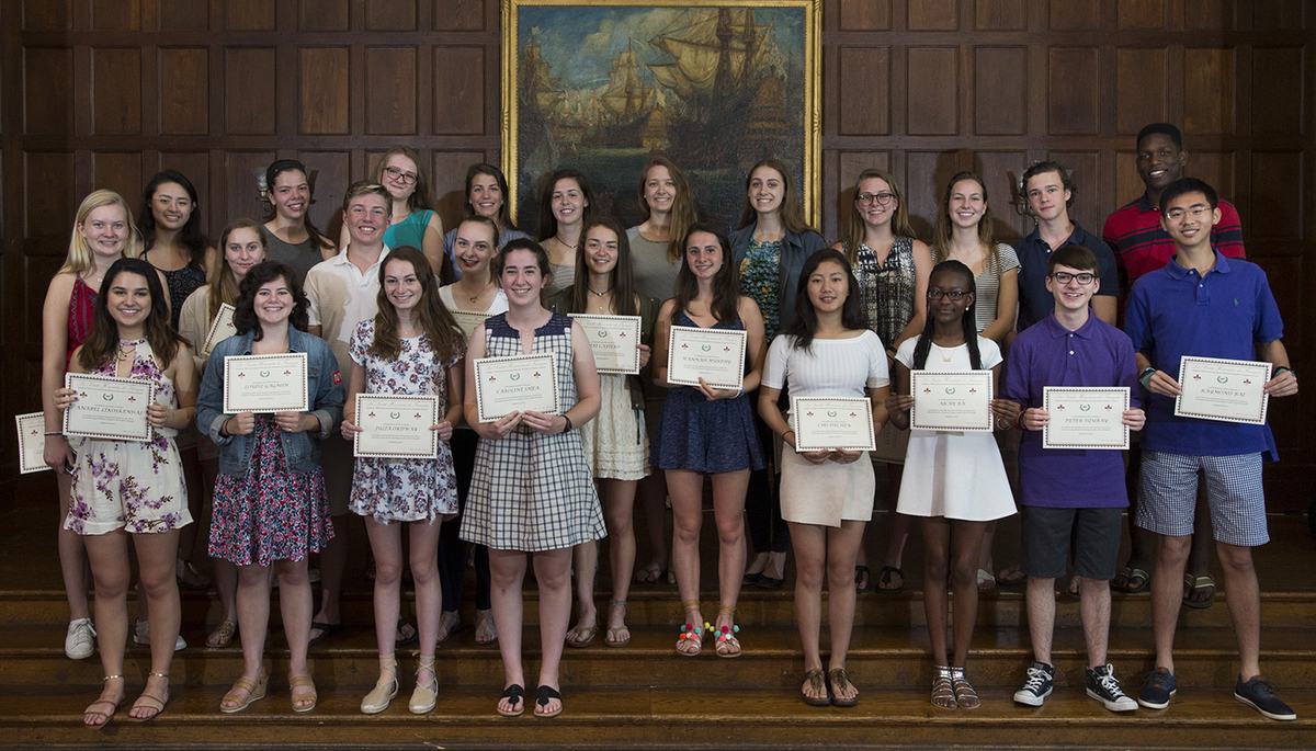 Taft Establishes National French Honor Society Chapter
