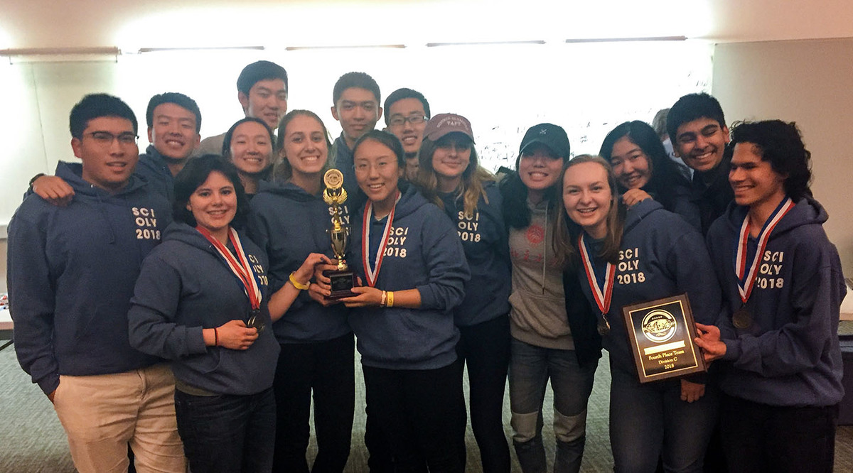 Taft Finishes Fourth in Connecticut Science Olympiad