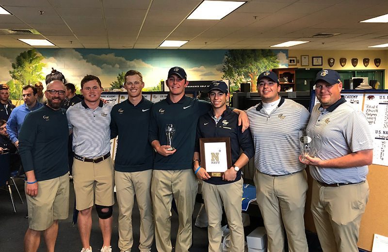 Porcelli '14 Wins Navy Invitational; Takes Team to the Top