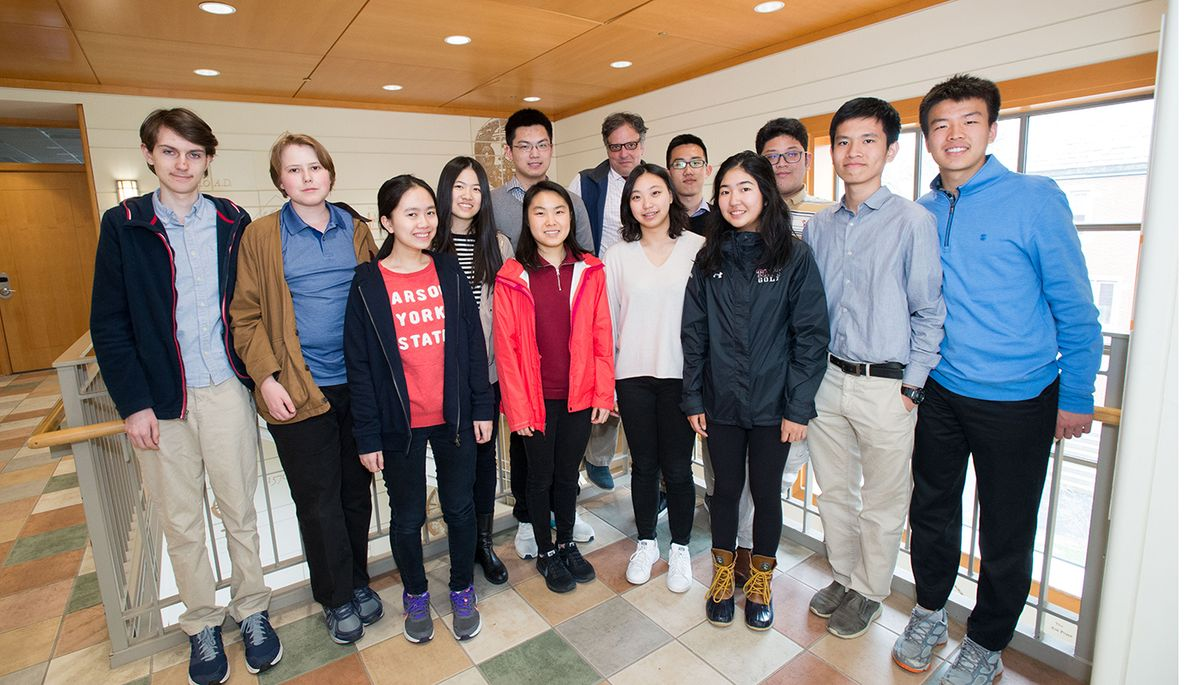 Math Team Scores Impressive NEML Finish: Leo Li '19 Leads the Pack