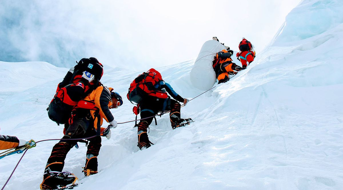 Facing Fears on Everest