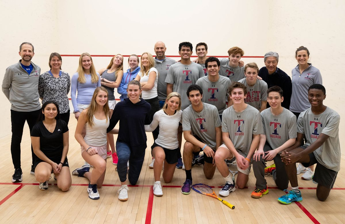 Renowned Player and Coach Omar ElBorolossy Brings His Expertise to Taft Squash