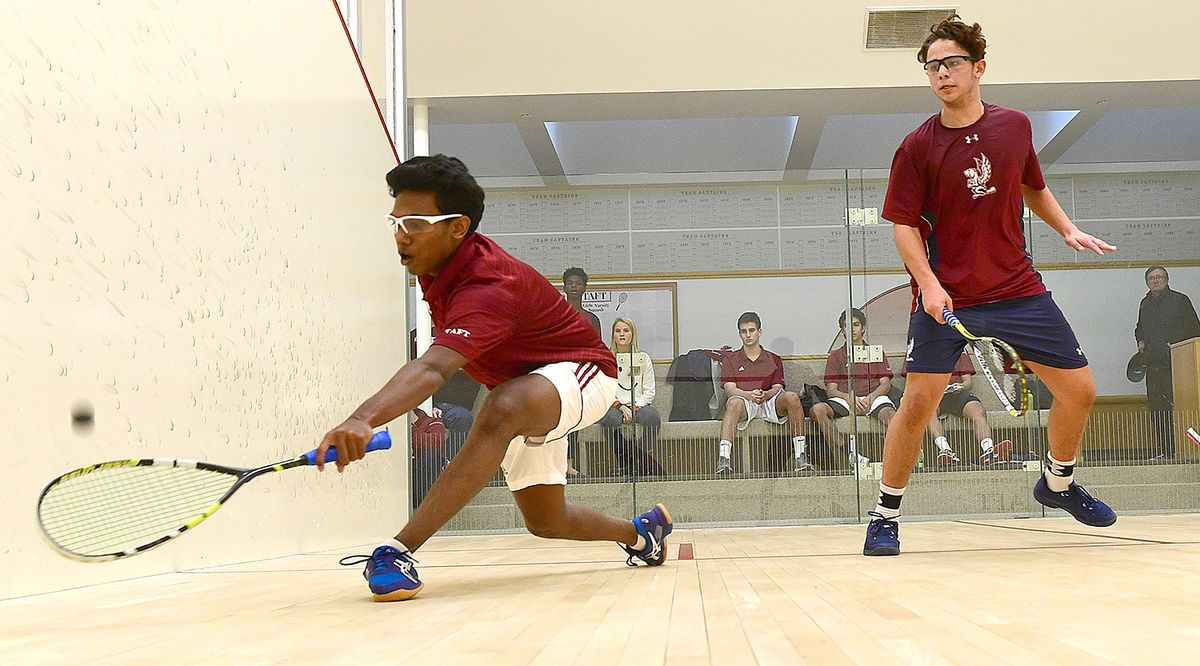 Sanjeev Jeyabalan '19 Named NESCAC Men's Squash Player of the Week