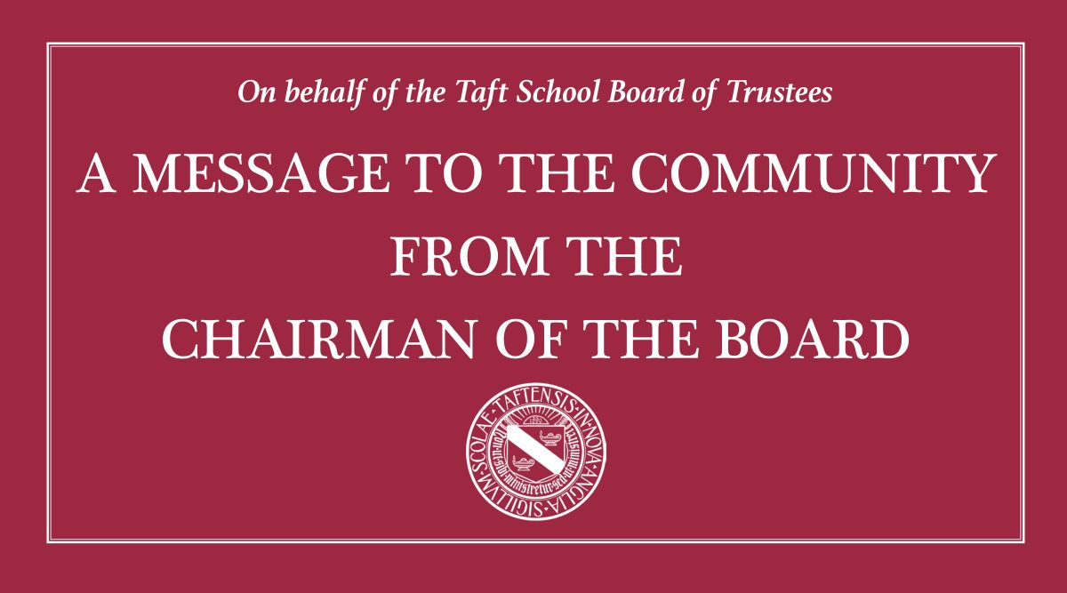 A Message from the Board of Trustees