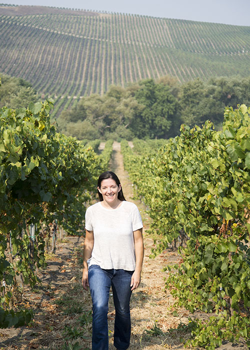 Wine industry lawyer Luisa Bonachea '00 in Napa, California. JOHN TRINIDAD