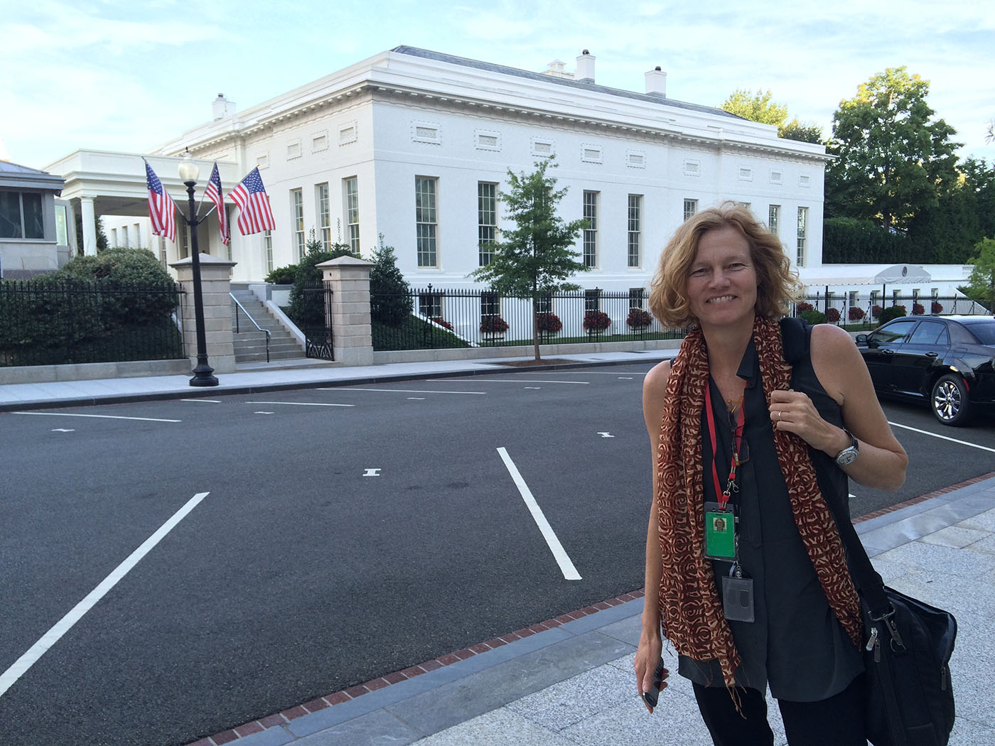 Amy Lynd Luers '84 in Washington, D.C.