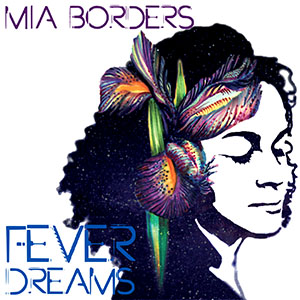 The cover for Borders' latest release, Fever Dreams, with artwork by classmate Elspeth Michaels '05.
