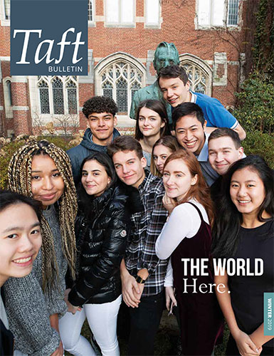 Winter 2019 Taft Bulletin cover