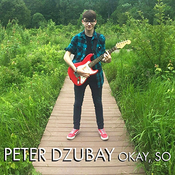 The album cover for Peter's debut EP Okay, So