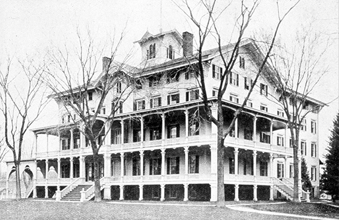 The Warren House, a 'languishing hotel' in Watertown, CT, became the new home of The Taft School in 1893.