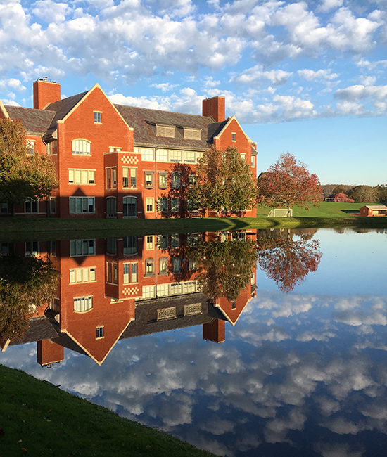 Campus Beauty: Potter's Pond